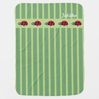 Ladybug March Baby Blanket