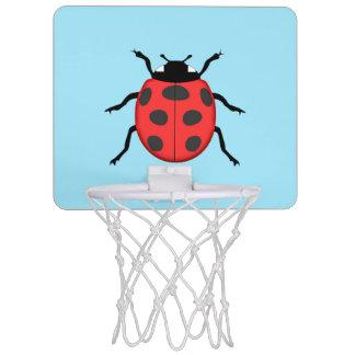 Ladybug Mini Basketball Hoop