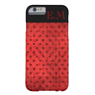Ladybug Monogram Barely There iPhone 6 Case