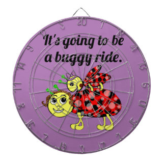 Ladybug Movie Buff Bug Eyed Dartboard