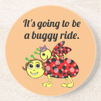 Ladybug Movie Buff coasting along Coaster
