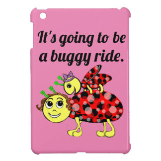 Ladybug Movie Buff iPad Mini Cover