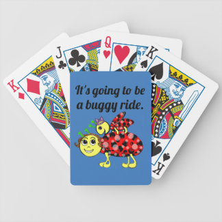 Ladybug Movie Buff Stack The Deck Bicycle Playing Cards