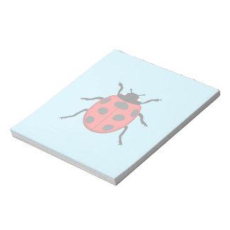 Ladybug Notepads