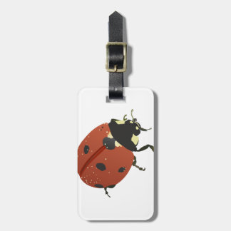 LadyBug Office Home  Personalize Destiny Destiny'S Luggage Tag