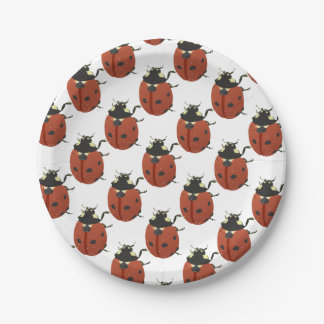 LadyBug Office Home  Personalize Destiny Destiny'S Paper Plate