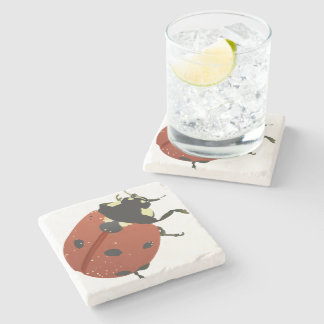 LadyBug Office Home  Personalize Destiny Destiny'S Stone Coaster