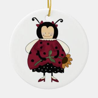 Ladybug ornament