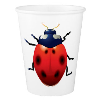 Ladybug Paper Cup