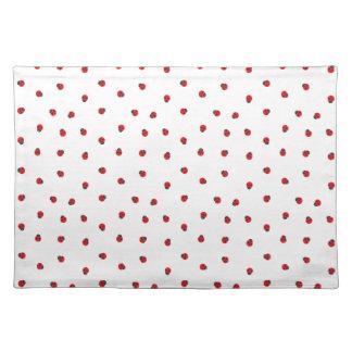 Ladybug Pattern Cloth Placemat