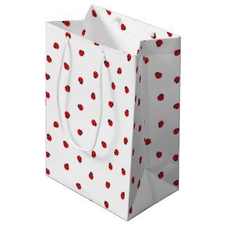 Ladybug Pattern Gift Bag