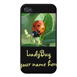 Ladybug Personalized Speck iPhone 4 Case