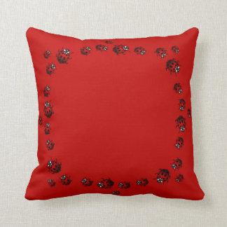 Ladybug Pillows Ladybird Art Pillows Ladybug Decor