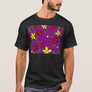 Ladybug - purple T-Shirt