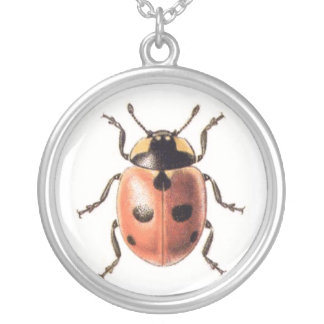 Ladybug Silver Plated Necklace