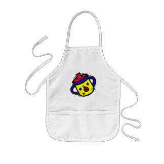 ladybug sippy cup kids' apron