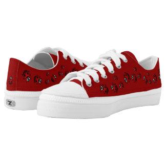 Ladybug Sneakers Ladybird Bug Canvas Running Shoes