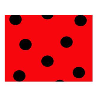 Ladybug Spots Postcard