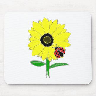 LadyBug & Sunflower Mouse Pads