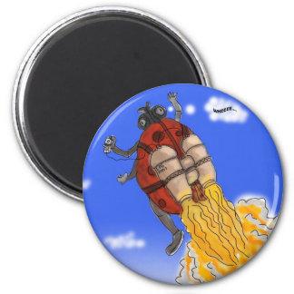 Ladybug Takes off Magnet