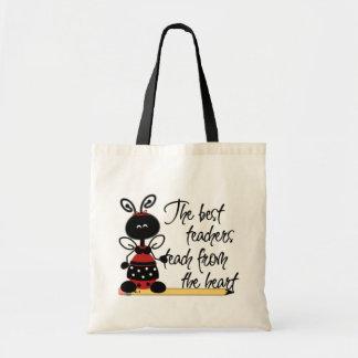 Ladybug Teacher's Tote Bag