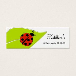 Ladybug Thank You Tags