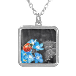 Ladybug Wonder Silver Plated Necklace