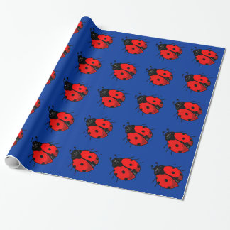 Ladybug Wrapping Paper