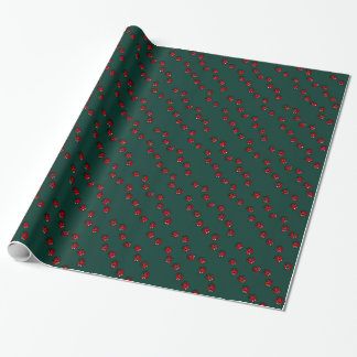 Ladybug Wrapping Paper Cute Ladybird Bug Paper
