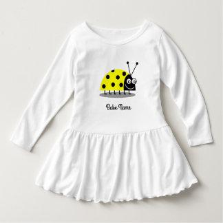 Ladybug Yellow Dress