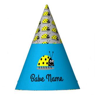 Ladybug Yellow Party Hat