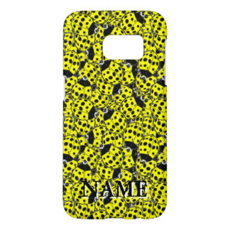 Ladybug Yellow Samsung Galaxy S7 Case