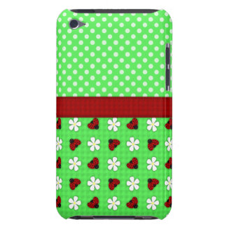 Ladybugs and Daisies iPod Touch Case