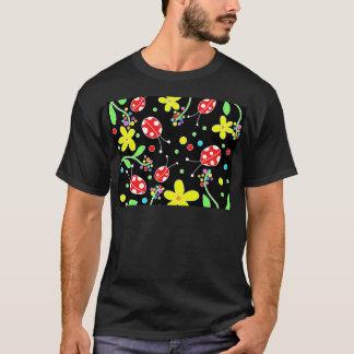 Ladybugs and flowers T-Shirt