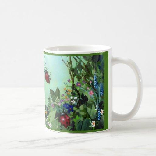 Ladybugs At Play Mug