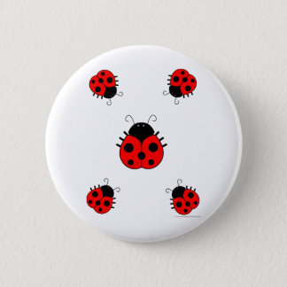 Ladybugs Button