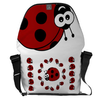 Ladybugs Commuter Bag