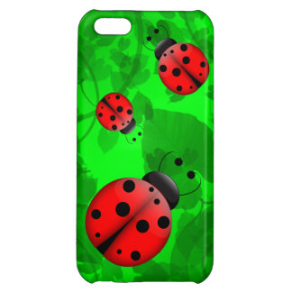 Ladybugs Cover For iPhone 5C