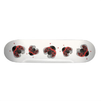 Ladybugs Fly Skateboard