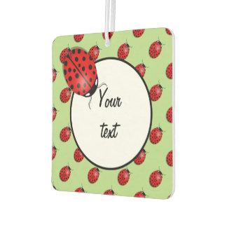 Ladybugs in red air freshener