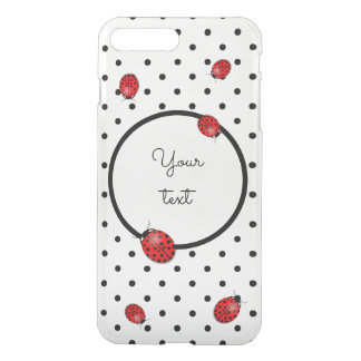 Ladybugs in red iPhone 8 plus/7 plus case