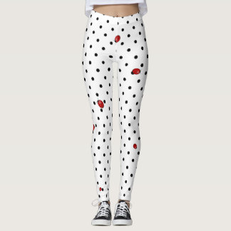 Ladybugs in red leggings