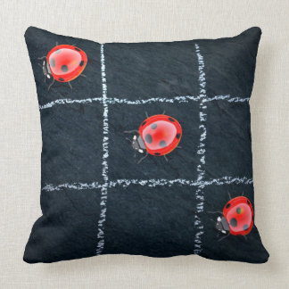 Ladybugs | Kid's Decorative Accent Throw Pillow