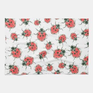Ladybugs Kitchen Towel