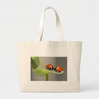 ladybugs large tote bag