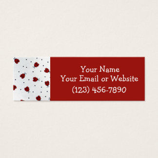 Ladybugs! Mini Business Card
