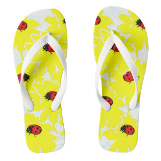 Ladybugs on Parade Flip Flops