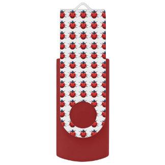 Ladybugs Pattern USB Flash Drive