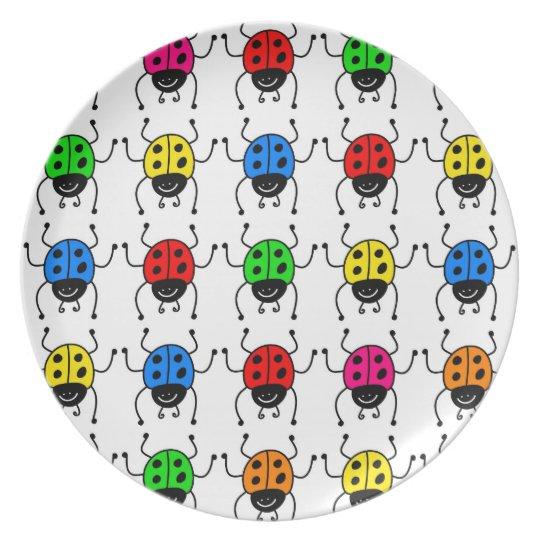 Ladybugs Plate