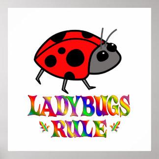 Ladybugs Rule Posters